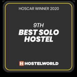 2020 - 9th Besto Solo Hostel - Ô de Casa Hostel