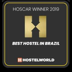 2019 - Best Hostel In Brazil - Ô de Casa Hostel
